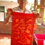 Batik suszymy