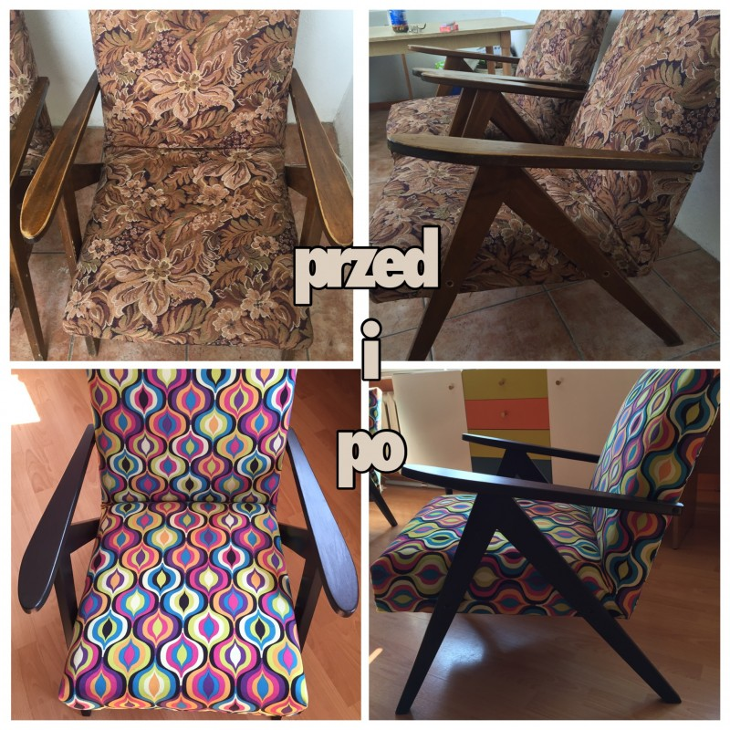 How to renovate an old armchair. <br> Upholstery for beginners