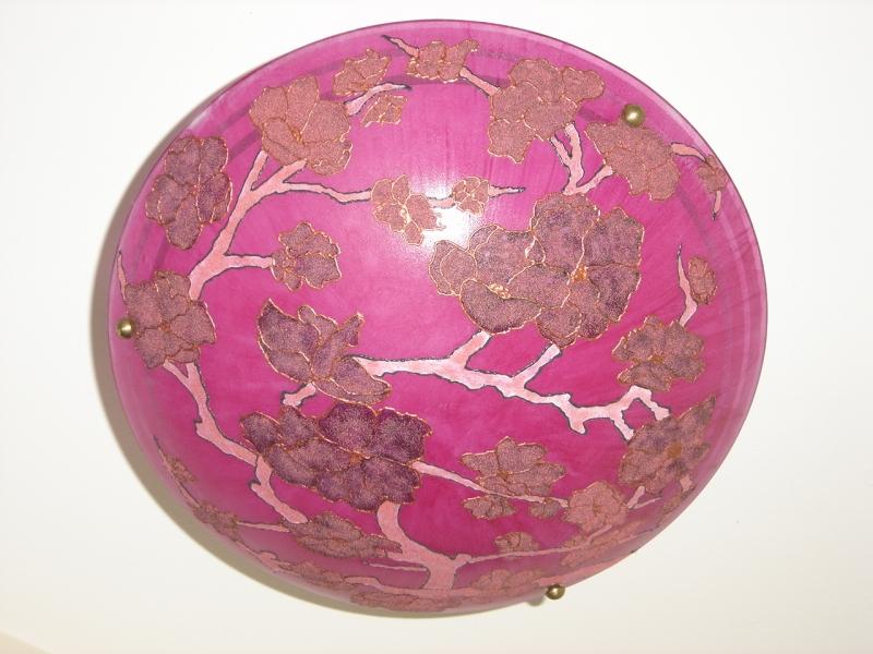 Ręcznie Malowane Szklane Żyrandole